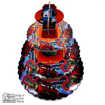 استند کاپ کیک ماشینها  3طبقه