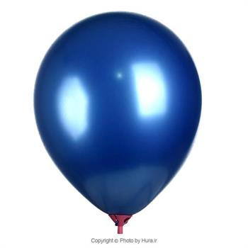 بادکنک 12اینچ کروم متالیک آبی
