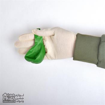 بادکنک براق سبز چمنی 12 اینچ