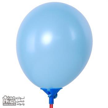 بادکنک ریز مات آبی روشن 5 اینچ