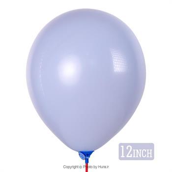 بادکنک پاستیلی آبی آسمانی 12 اینچ