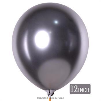 بادکنک کروم نقره ای 12 اینچ