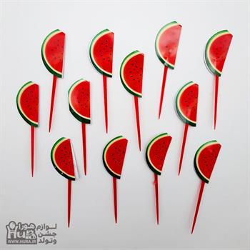 خلال میوه کوچک یلدا هندوانه 12 عددی