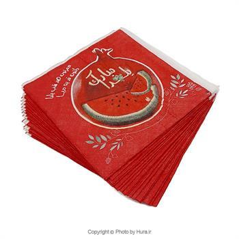 دستمال کاغذی یلدا 20 عددی مدل 2