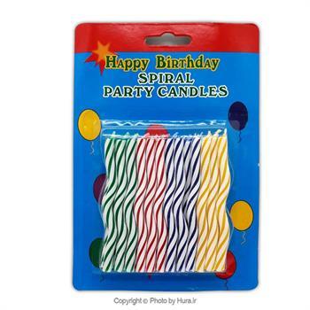 شمع تولد موجی 24 عددی
