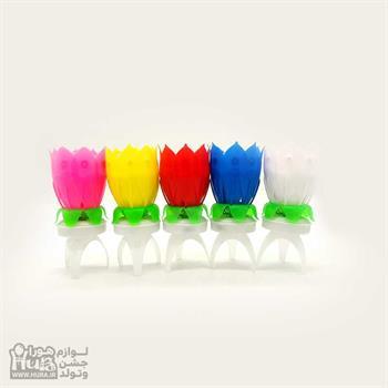 شمع های گل موزیـکال گردان