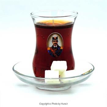 شمع ژله ای استکان چای قند پهلو