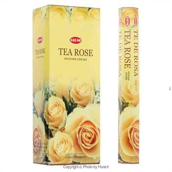 عود هندی هم  HEMرایحه چای و گل رز ـ ش 10
