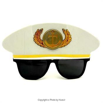 عینک فانتزی مدل کاپیتان