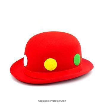 کلاه لبه دار بلند انگلیسی نمدی قرمز