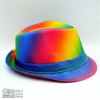 کلاه پارچه ای شاپو هفت رنگ ط 3
